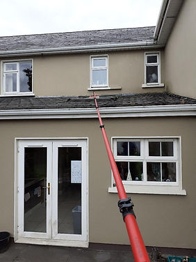High reach Window Cleaning
