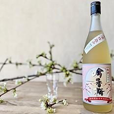 吟香梅 純米酒仕込み 福井県産 / Giknkoubai - Japanese plum wine from Fukui
