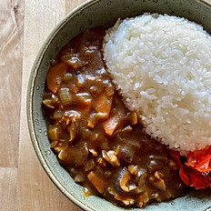 Japanese shiitake & vegetable curry
