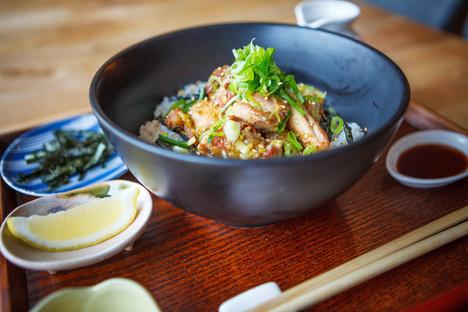 塩焼き鳥丼 / Shio yakitori Don