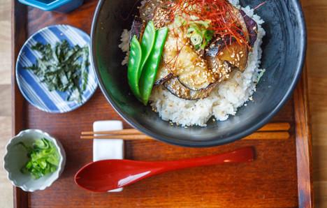 なす味噌丼 / Nasumiso Don