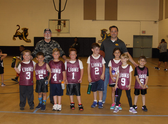 1st 2nd Grade B Team