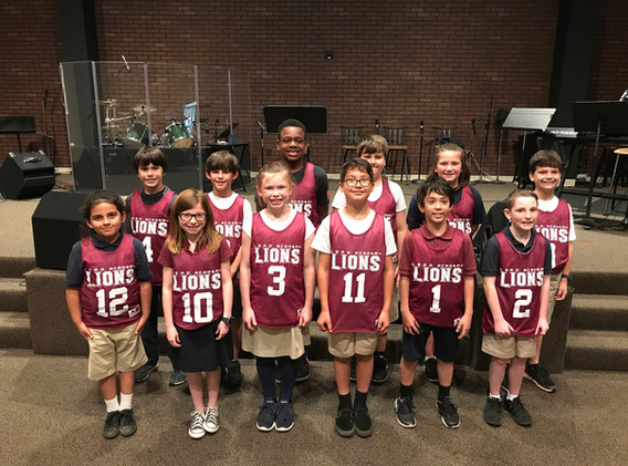 3rd 4th Grade Team