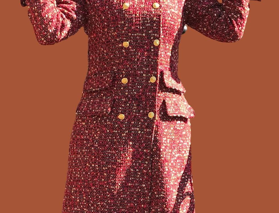 Daja in tweed