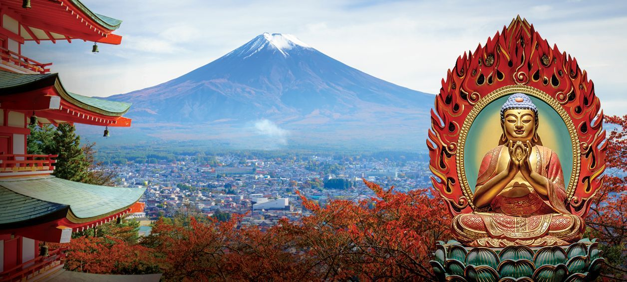 Bubbe Fire cannabis from Washington cannabis supplier represented by Buddha and Mt. Fuji