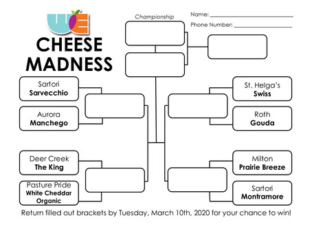 Cheese Madness!