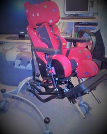 Mein erstes Rehagerät ist eine Sitzschal
