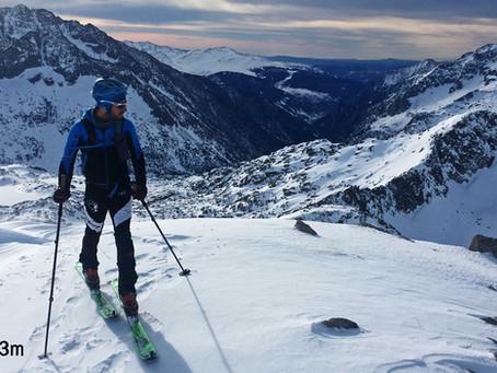 Montardo 2833m - Esquí de montaña