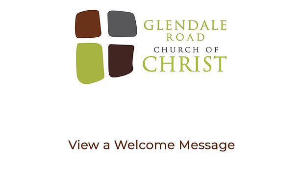 Welcome to Glendale Road