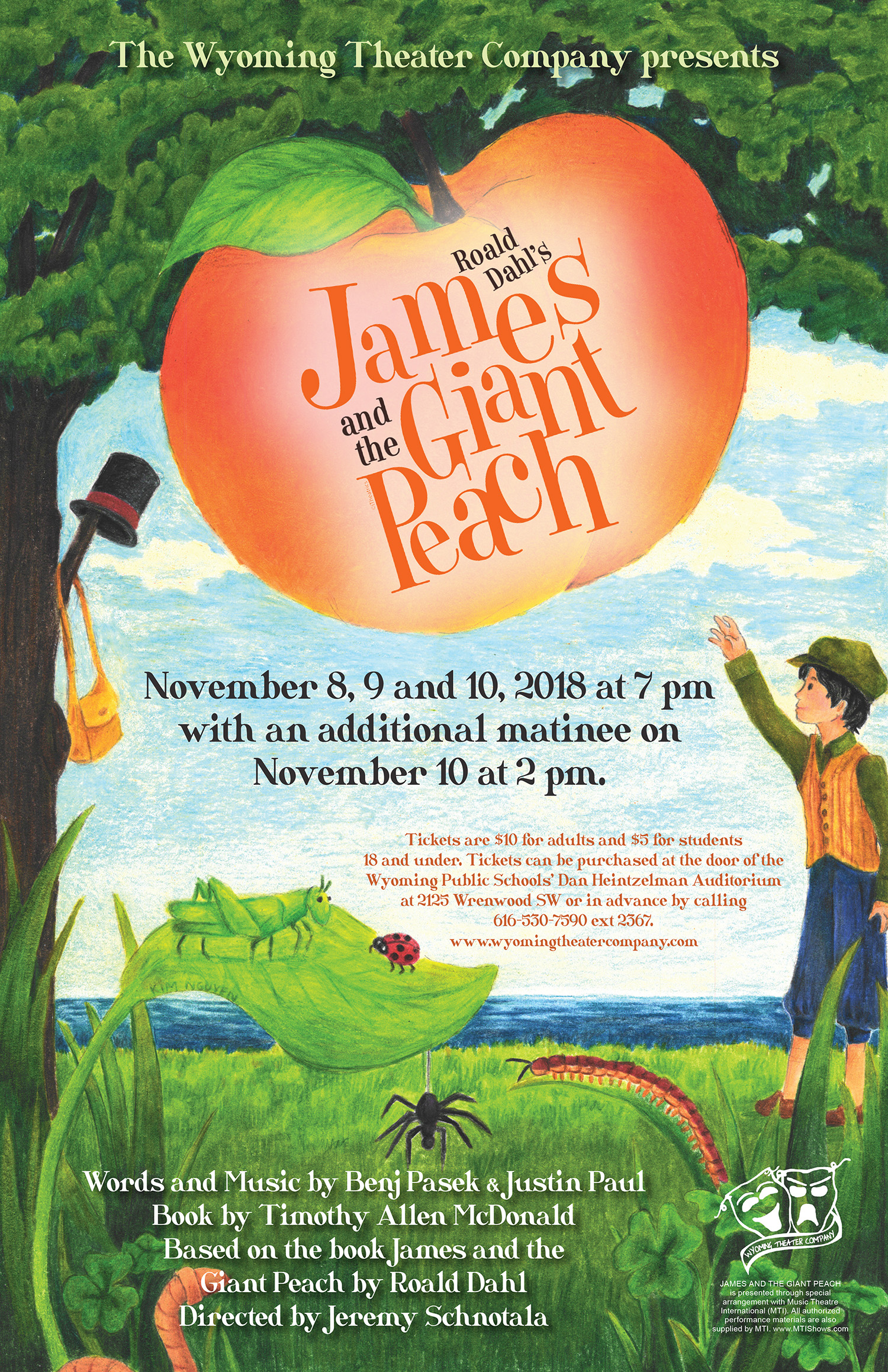 JAMES AND THE GIANT PEACH IN THE NEWS