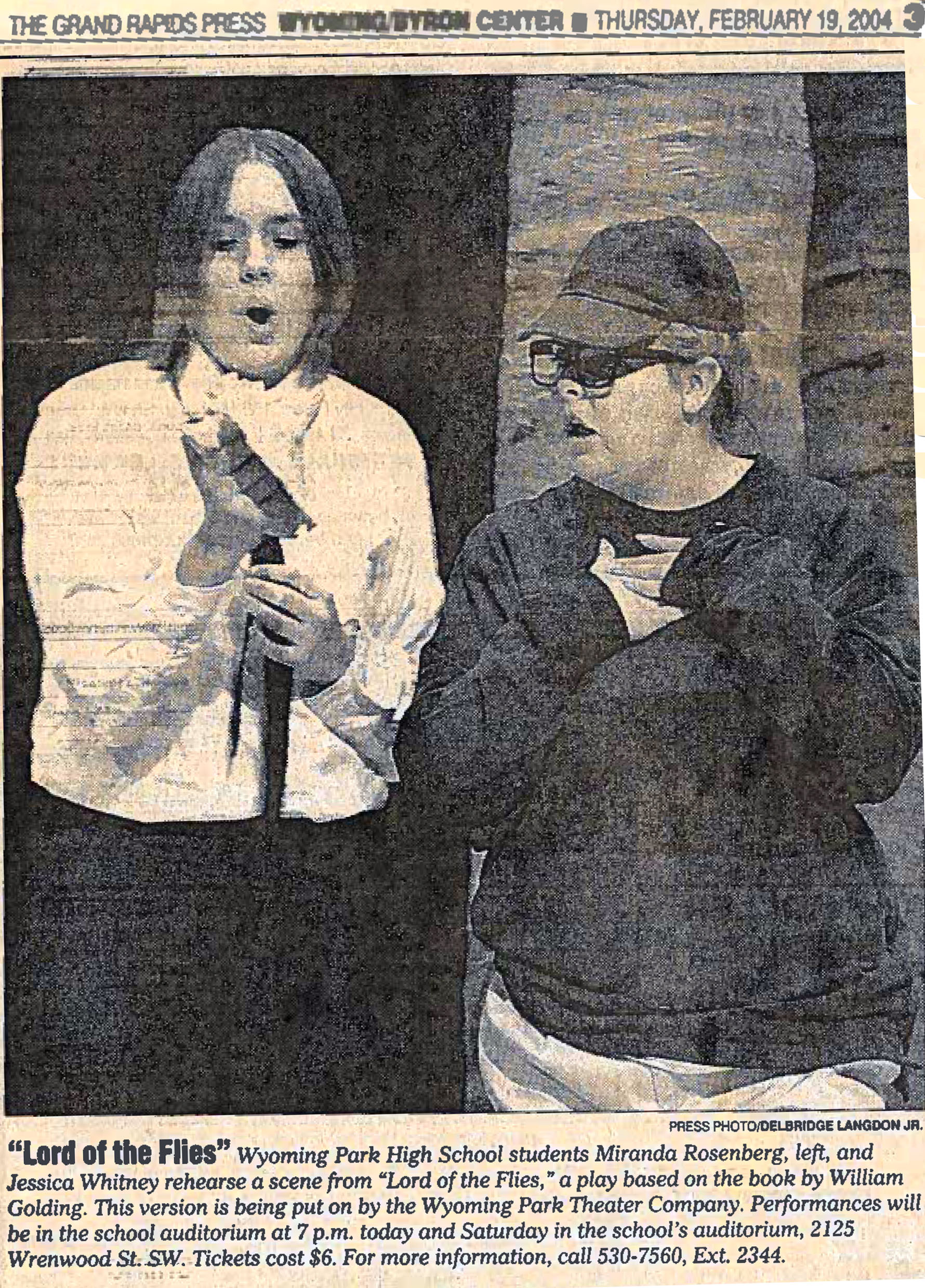 lord of the flies photo in press with mi