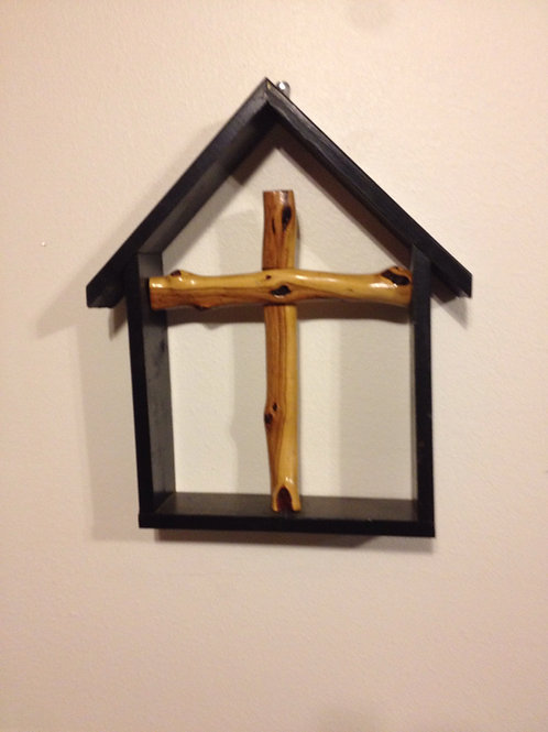 Handcrafted  Manzanita Wood Cross