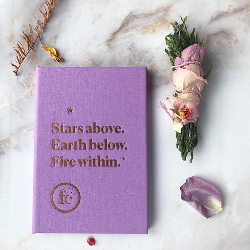 Fe & Tarot Card Holder (lilac)
