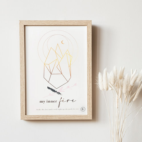 Inner Fire Intuition Print