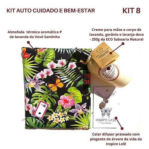 KIT AUTO CUIDADO E BEM-ESTAR 8