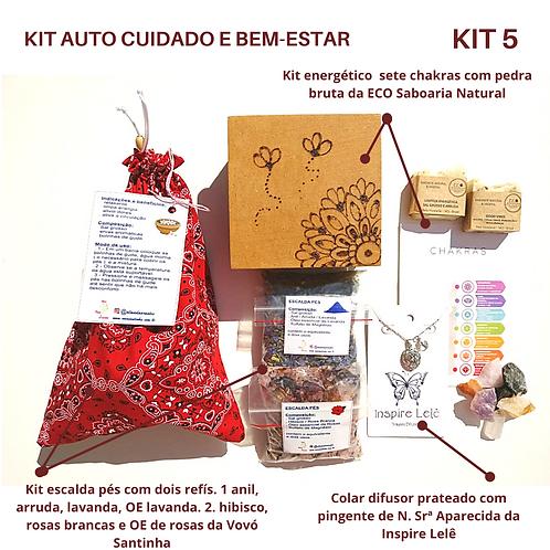 KIT AUTO CUIDADO E BEM-ESTAR 5