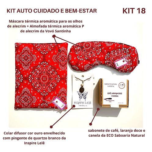 KIT AUTO CUIDADO E BEM-ESTAR 18