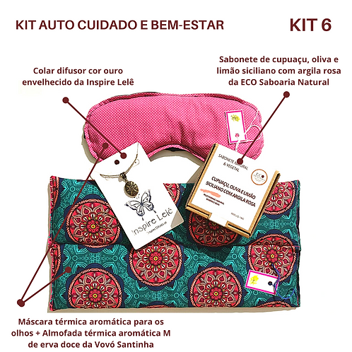 KIT AUTO CUIDADO E BEM-ESTAR 6