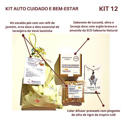 KIT AUTO CUIDADO E BEM-ESTAR 12