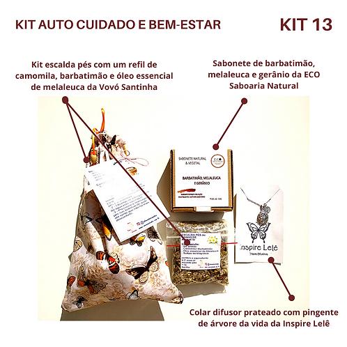 KIT AUTO CUIDADO E BEM-ESTAR 13