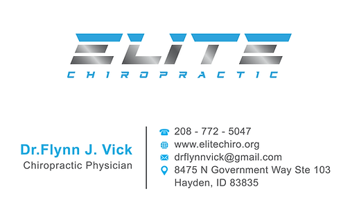 Chiropractor Hayden | Dr. Flynn Vick | Elite Chiropractic