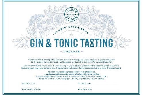 Gin & Tonic Tasting - Gift Voucher