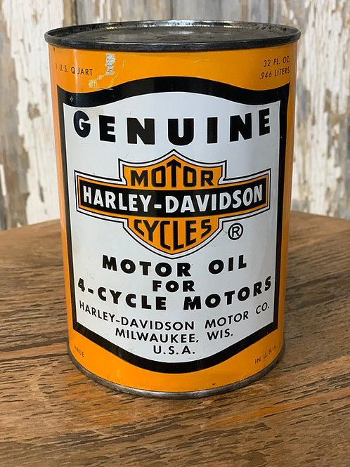 Genuine HD Motor Oil 4-cycle
