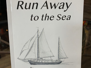 """Run Away to the Sea"" by Michael J. Van Hout, a local artist, is available to purchase her"