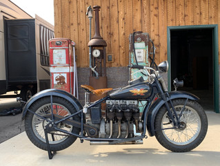 NOW IS YOUR CHANCE TO OWN THIS 1928 HENDERSON K-DELUXE BEFORE IT  HEADS TO IAA IN FARGO, ND ON MONDA