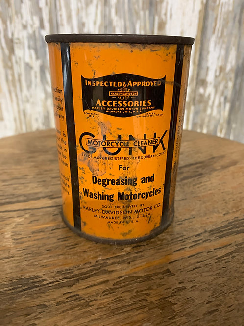 Gunk Motorcycle Cleaner can/empty