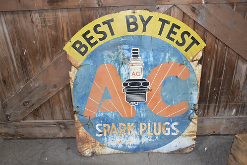 AC Spark Plugs Sign