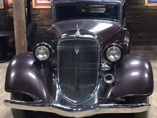 The 1934 Public Enemies Coupe has arrived!