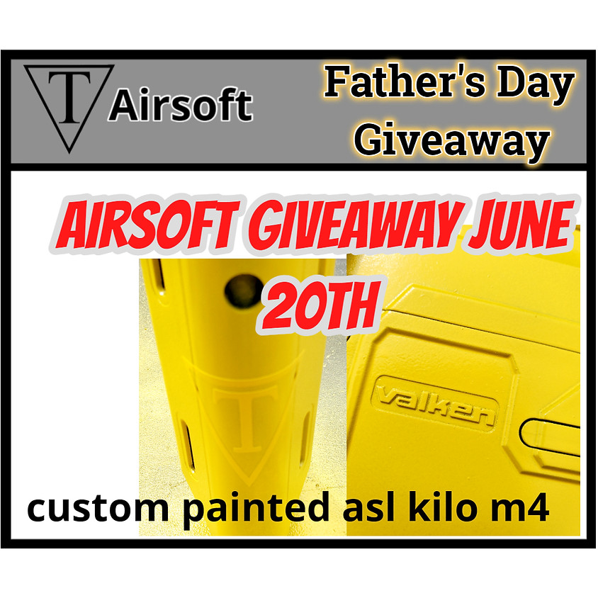 Trifecta Airsoft Father´s Day Giveaway