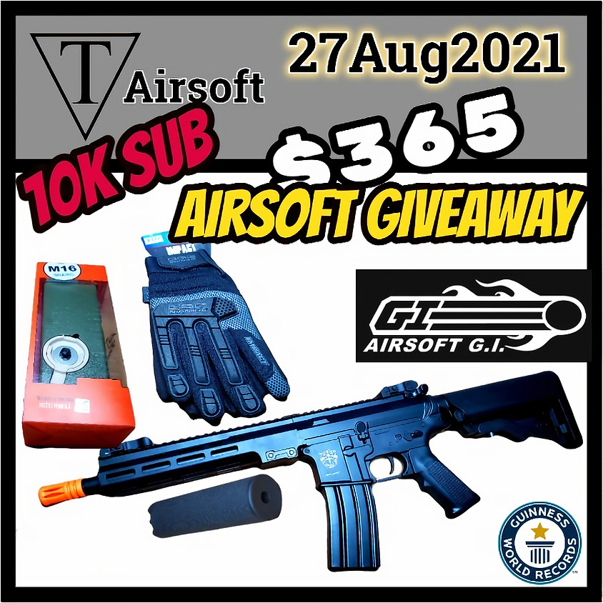 10k Sub Guinness Book of Records Giveaway