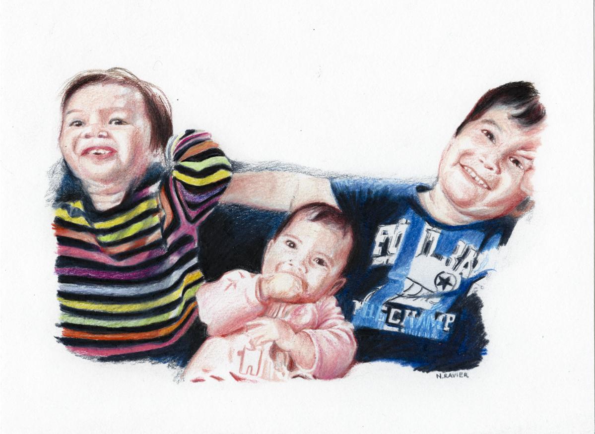 Entre frère et soeurs