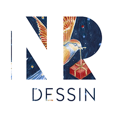 NR Dessin Logo Nathalie Ravier