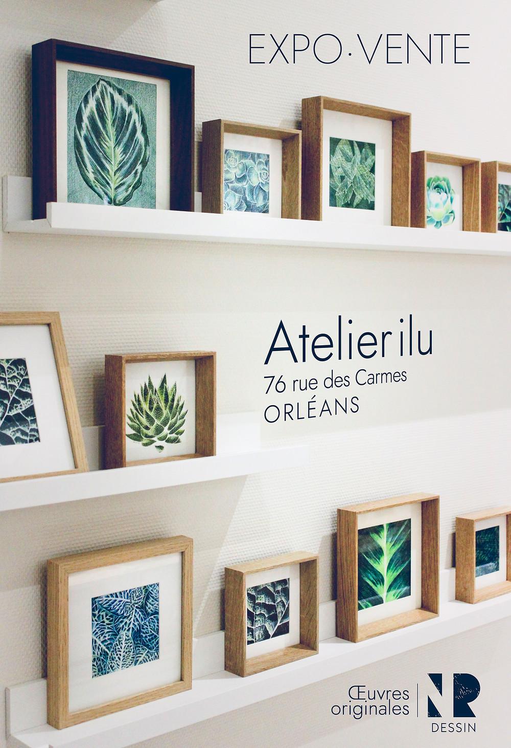 Expo vente | Atelier ilu | NR Dessin | 2019