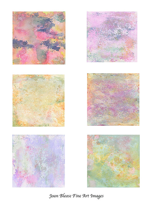 # 3 HAND PAINTED BACKGROUNDS FOR ART/SCRAPBOOK JOURNALS & MIXED MEDIA PROJECTS