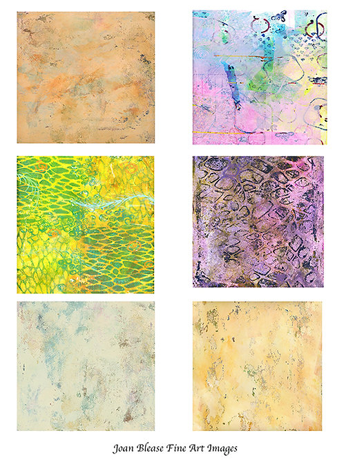#2 HAND PAINTED BACKGROUNDS FOR ART/SCRAPBOOK JOURNALS & MIXED MEDIA PROJECTS
