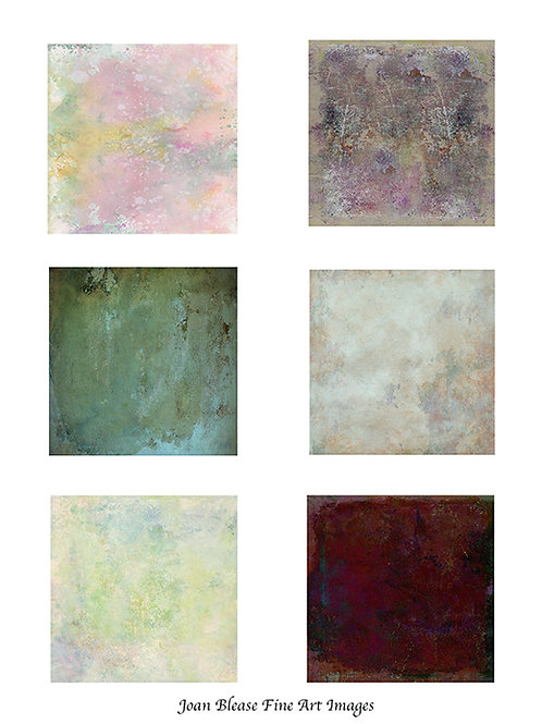 #6 HAND PAINTED BACKGROUNDS FOR ART/SCRAPBOOK JOURNALS &  MIXED MEDIA PROJECTS
