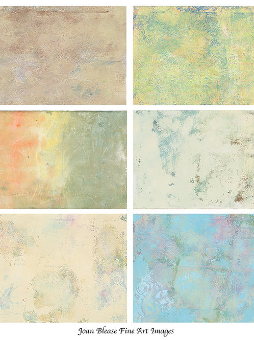 6 HAND PAINTED TEXTURES #1
