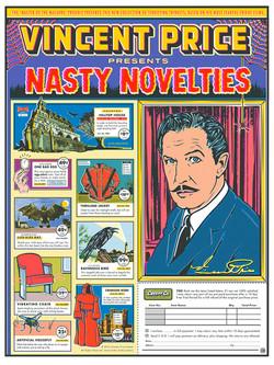 Vincent Price Nasty Novelties