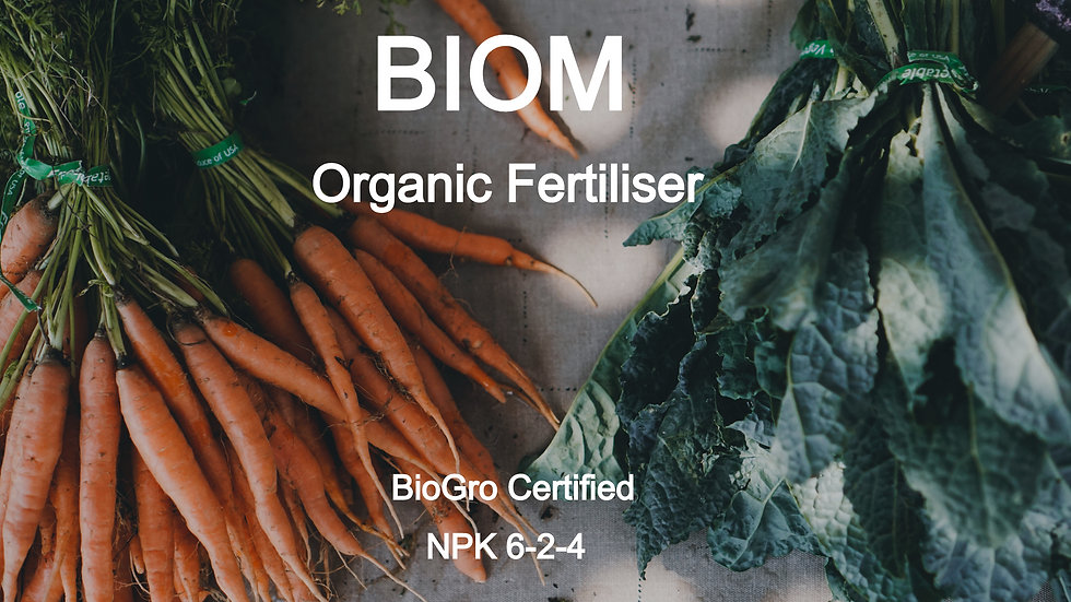 BIOM Organic Fertiliser
