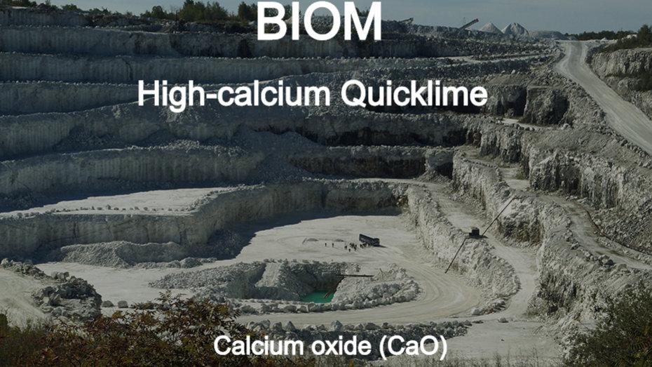 BIOM High-calcium Quicklime