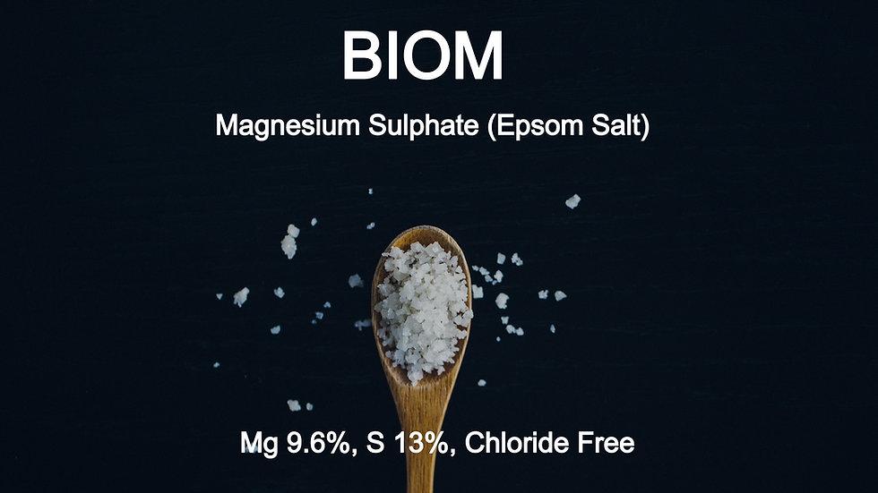 BIOM Magnesium Sulphate (Epsom Salt)