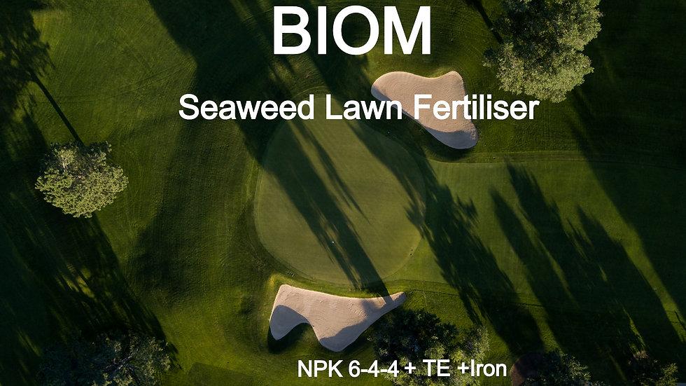 BIOM Seaweed Lawn Fertiliser