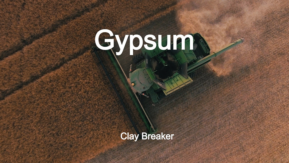 Gypsum - Clay Breaker