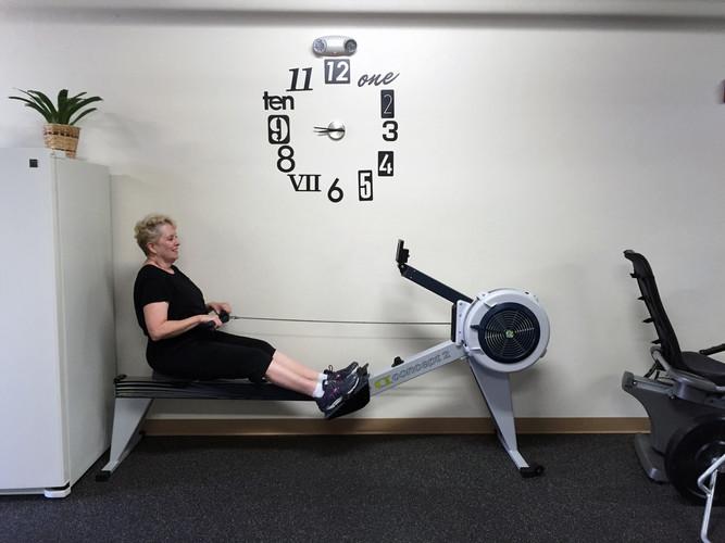 Mary rowing.jpg