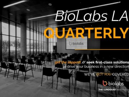 BioLabs LA Winter Newsletter