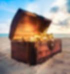 Die Schatztruhe des Piraten am Strand. Entdecke das Zentrum von Malaga auf unserer privaten Stadtschatzsuche. Das Erlebnis für euren Urlaub oder eure Reise. www.malagacityadventure.com